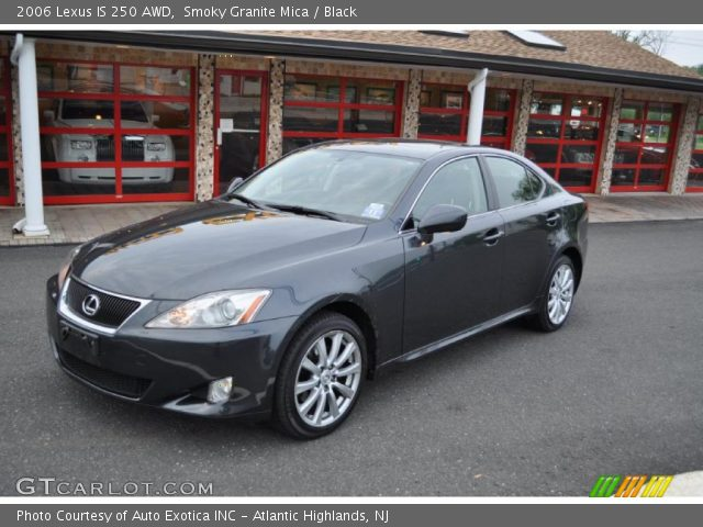 smoky granite mica 2006 lexus is 250 awd black interior vehicle archive. Black Bedroom Furniture Sets. Home Design Ideas