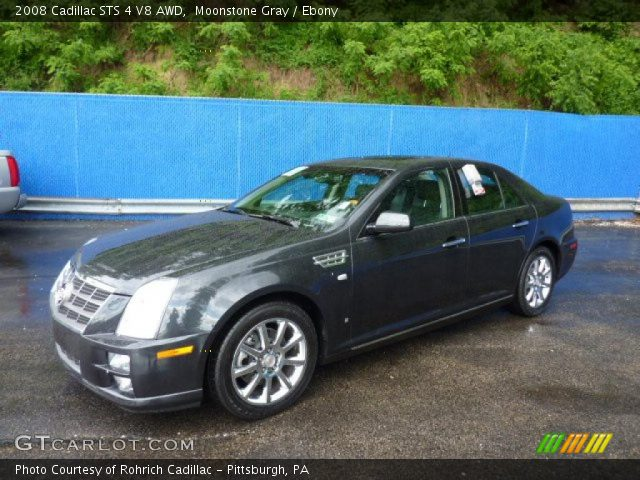 2008 Cadillac STS 4 V8 AWD in Moonstone Gray