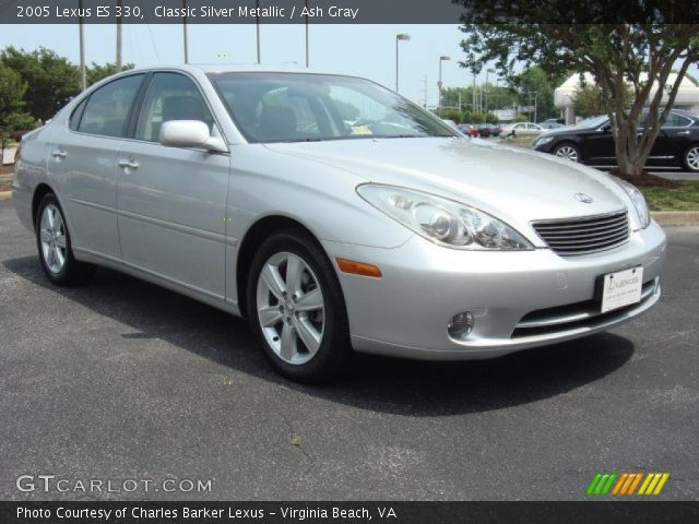 classic silver metallic 2005 lexus es 330 ash gray. Black Bedroom Furniture Sets. Home Design Ideas