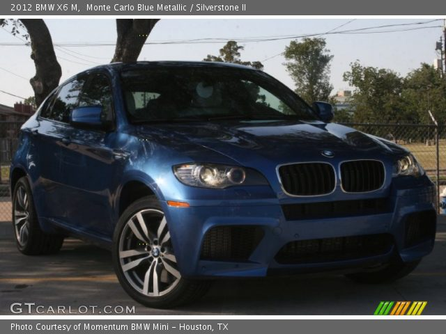 monte carlo blue metallic 2012 bmw x6 m silverstone ii. Black Bedroom Furniture Sets. Home Design Ideas