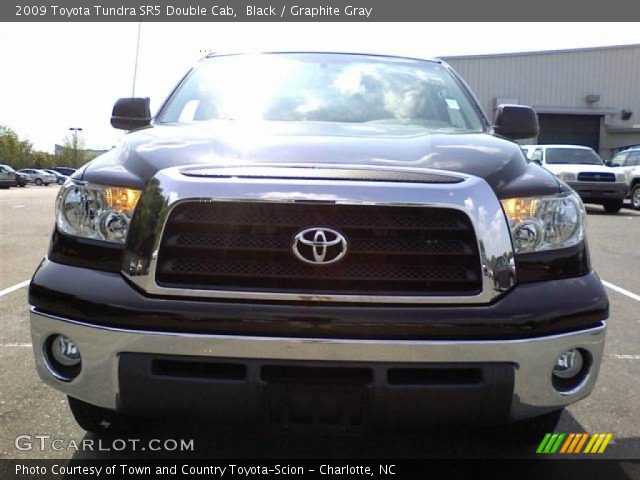 black 2009 toyota tundra sr5 double cab graphite gray. Black Bedroom Furniture Sets. Home Design Ideas