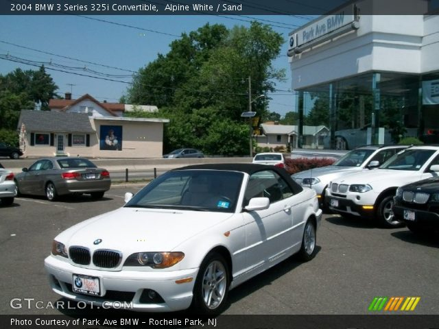 2004 BMW 3 Series 325i Convertible in Alpine White