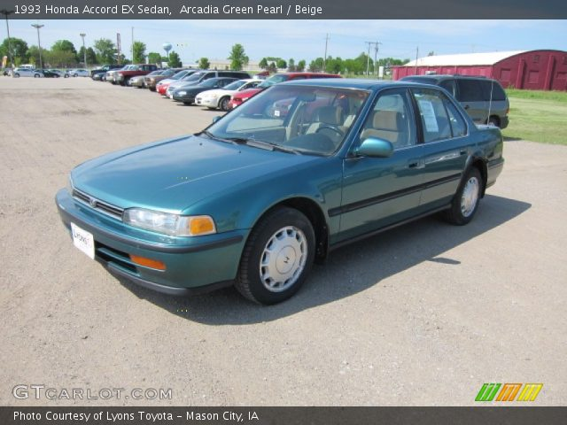 1993 Honda Accord EX Sedan in Arcadia Green Pearl