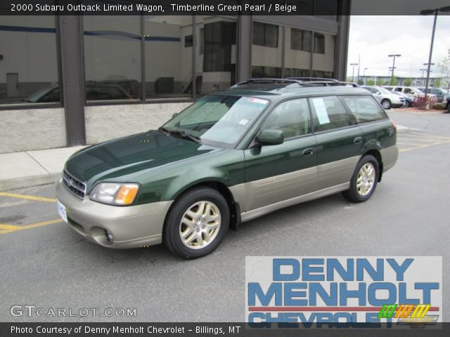 timberline green pearl 2000 subaru outback limited wagon. Black Bedroom Furniture Sets. Home Design Ideas