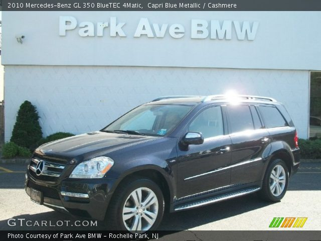 capri blue metallic 2010 mercedes benz gl 350 bluetec. Black Bedroom Furniture Sets. Home Design Ideas