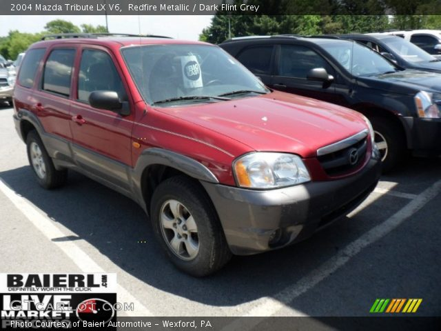 redfire metallic 2004 mazda tribute lx v6 dark flint. Black Bedroom Furniture Sets. Home Design Ideas