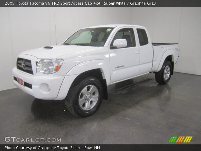 super white 2005 toyota tacoma v6 trd sport access cab. Black Bedroom Furniture Sets. Home Design Ideas