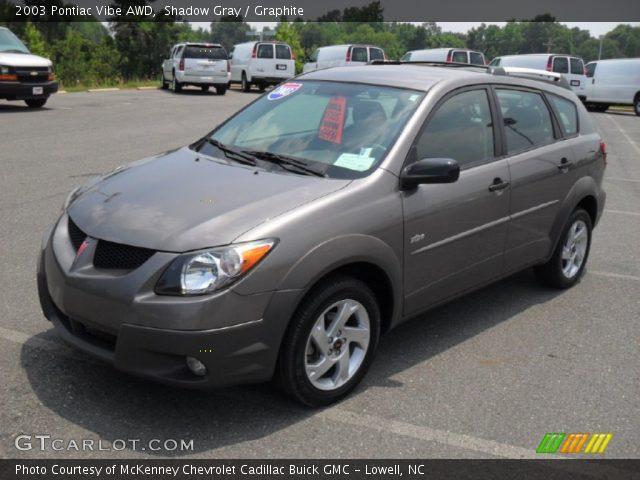 2003 Pontiac Vibe AWD in Shadow Gray