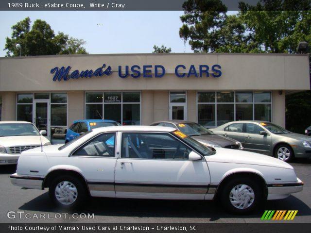 on 1989 Buick Lesabre White