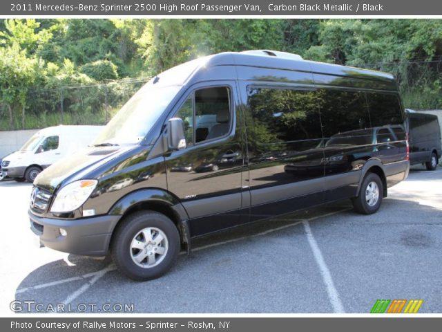 2011 Mercedes-Benz Sprinter 2500 High Roof Passenger Van in Carbon Black Metallic