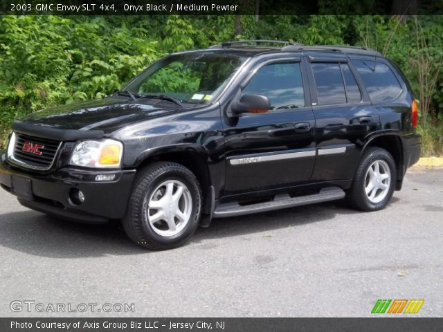 onyx black 2003 gmc envoy slt 4x4 medium pewter. Black Bedroom Furniture Sets. Home Design Ideas
