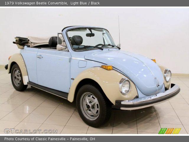 light blue 1979 volkswagen beetle convertible black interior vehicle. Black Bedroom Furniture Sets. Home Design Ideas
