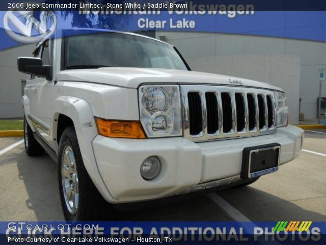 2006 Jeep Commander Limited in Stone White