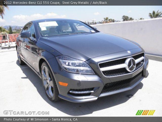 2012 Mercedes-Benz CLS 550 Coupe in Steel Grey Metallic