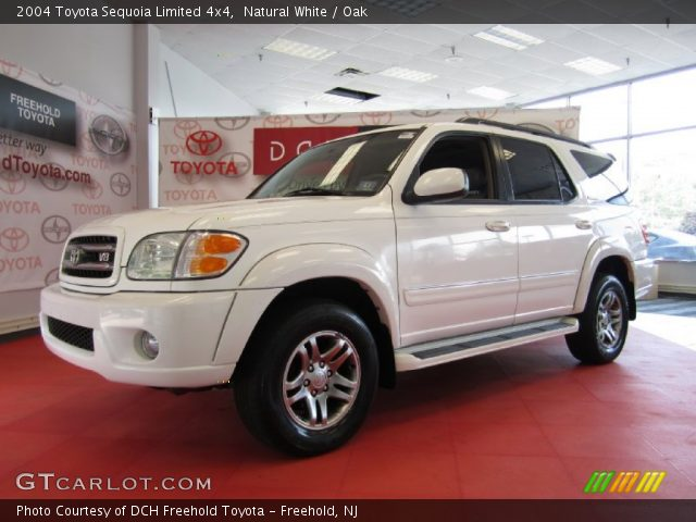 natural white 2004 toyota sequoia limited 4x4 oak interior vehicle archive. Black Bedroom Furniture Sets. Home Design Ideas