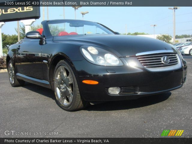 2005 lexus sc 430 pebble beach edition in black diamond click to see