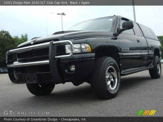 black 2001 dodge ram 1500 slt club cab 4x4 agate interior vehicle archive. Black Bedroom Furniture Sets. Home Design Ideas