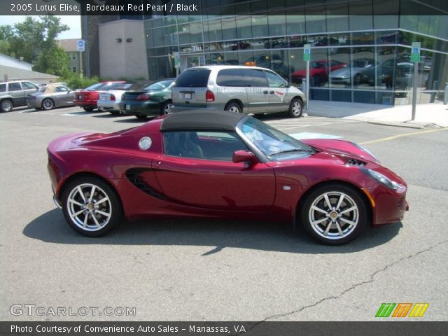 2005 Lotus Elise  in Bordeaux Red Pearl