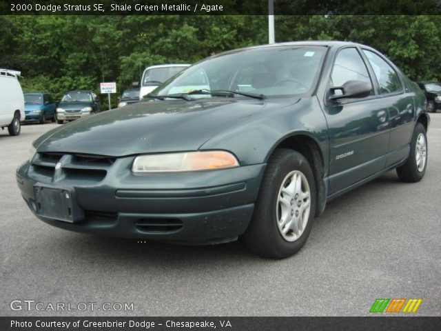 shale green metallic 2000 dodge stratus se agate. Black Bedroom Furniture Sets. Home Design Ideas