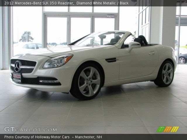 2012 Mercedes-Benz SLK 350 Roadster in Diamond White Metallic