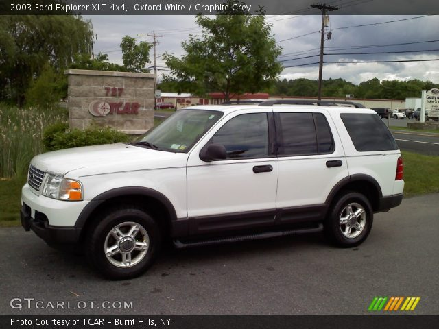 oxford white 2003 ford explorer xlt 4x4 graphite grey. Cars Review. Best American Auto & Cars Review