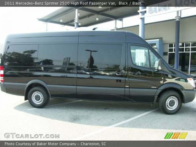 Black 2011 mercedes benz sprinter 2500 high roof for 2011 mercedes benz sprinter 2500