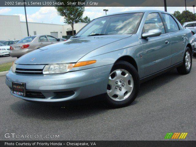 2002 Saturn L Series L300 Sedan in Silver Blue