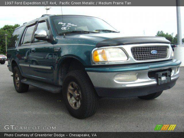 Pacific Green Metallic 1997 Ford Expedition Xlt 4x4 Medium Prairie Tan Interior Gtcarlot
