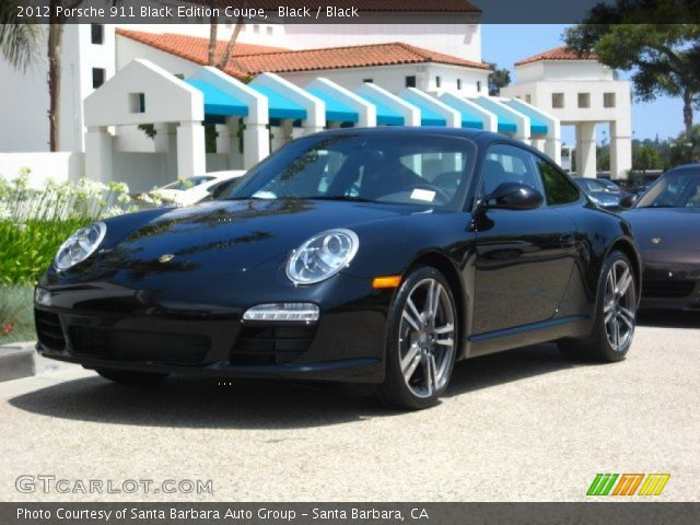 black 2012 porsche 911 black edition coupe black interior vehicle archive. Black Bedroom Furniture Sets. Home Design Ideas