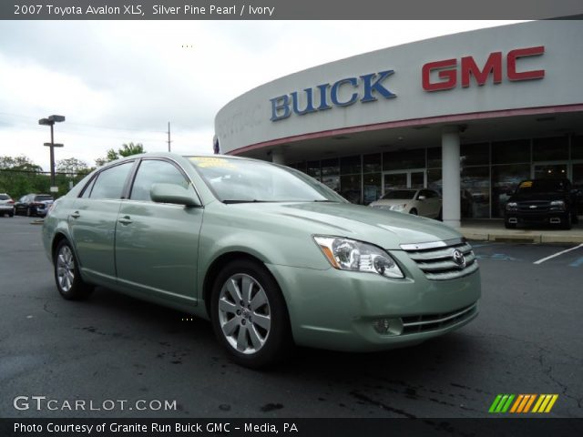 Silver Pine Pearl - 2007 Toyota Avalon XLS - Ivory Interior | GTCarLot ...