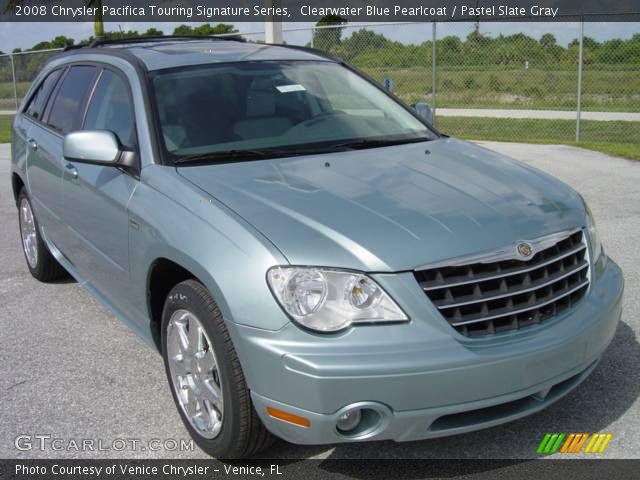 clearwater blue pearlcoat 2008 chrysler pacifica touring. Black Bedroom Furniture Sets. Home Design Ideas