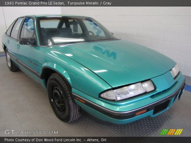 turqouise metallic 1991 pontiac grand prix le sedan gray interior gtcarlot com vehicle archive 50601268 gtcarlot com