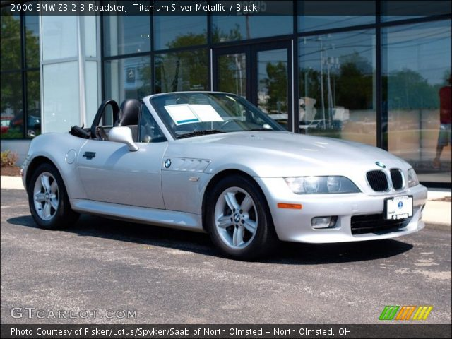 titanium silver metallic 2000 bmw z3 2 3 roadster. Black Bedroom Furniture Sets. Home Design Ideas