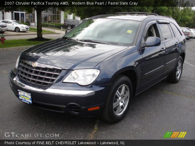 modern blue pearl 2007 chrysler pacifica touring awd. Black Bedroom Furniture Sets. Home Design Ideas