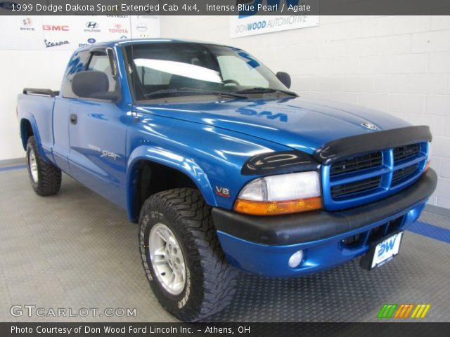 intense blue pearl 1999 dodge dakota sport extended cab. Black Bedroom Furniture Sets. Home Design Ideas