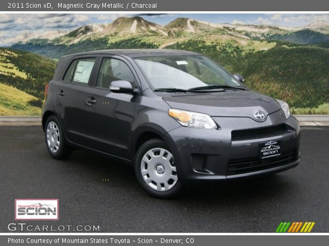 2011 Scion xD  in Magnetic Gray Metallic