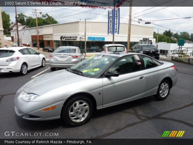 silver 2002 saturn s series sc1 coupe gray interior vehicle archive 50870402. Black Bedroom Furniture Sets. Home Design Ideas