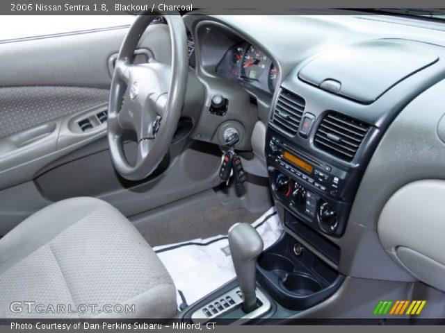 blackout 2006 nissan sentra 1 8 charcoal interior vehicle archive 50870282. Black Bedroom Furniture Sets. Home Design Ideas