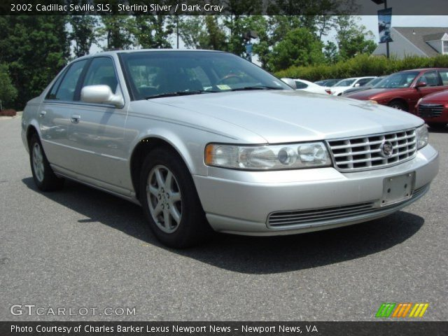 sterling silver 2002 cadillac seville sls dark gray interior gtcarlot c. Cars Review. Best American Auto & Cars Review