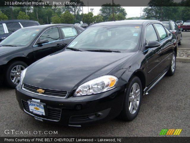 Black 2011 Chevrolet Impala Lt Ebony Interior Vehicle Archive 50911979