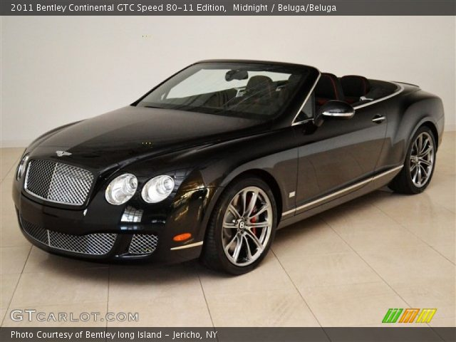 2011 Bentley Continental GTC Speed 80-11 Edition in Midnight