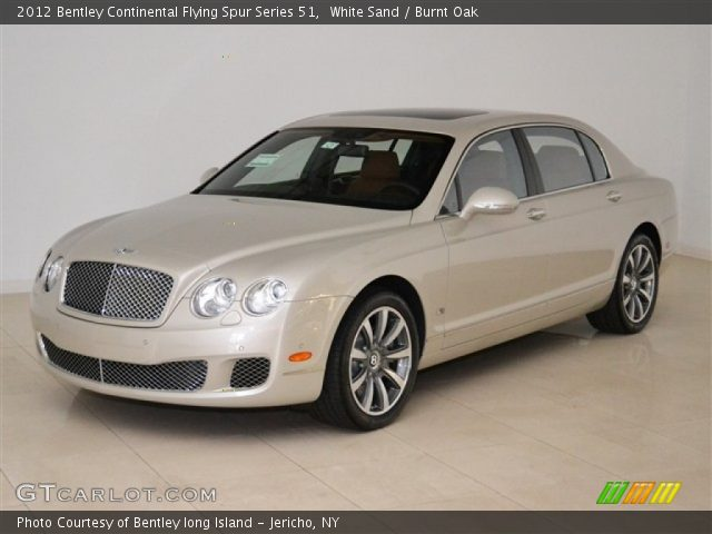 2012 Bentley Continental Flying Spur Series 51 in White Sand