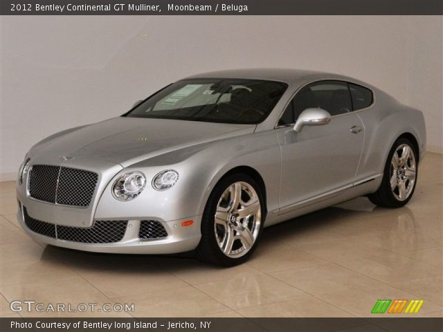 2012 Bentley Continental GT Mulliner in Moonbeam