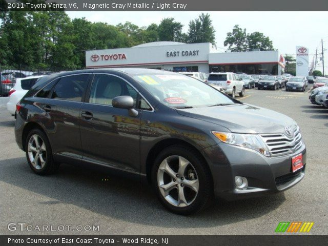magnetic gray metallic 2011 toyota venza v6 light gray. Black Bedroom Furniture Sets. Home Design Ideas