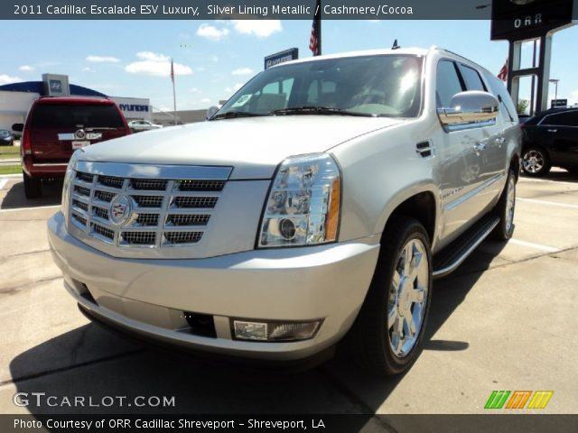 2011 Cadillac Escalade ESV Luxury in Silver Lining Metallic