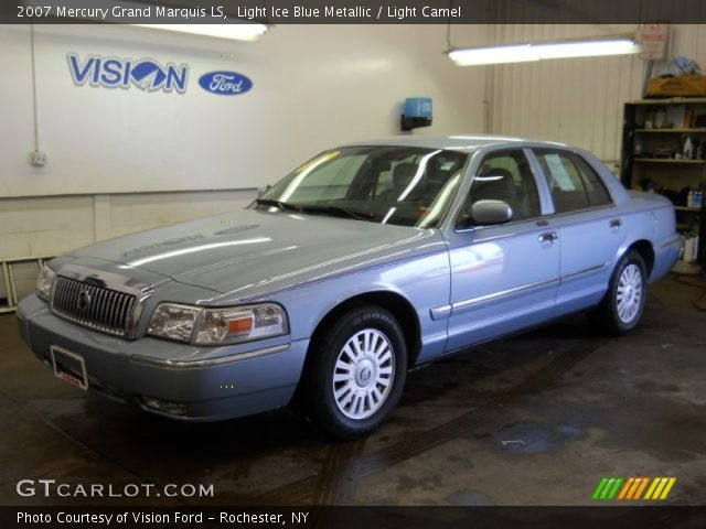 light ice blue metallic 2007 mercury grand marquis ls. Black Bedroom Furniture Sets. Home Design Ideas
