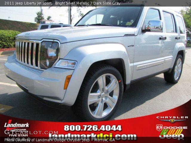 bright silver metallic 2011 jeep liberty jet sport. Black Bedroom Furniture Sets. Home Design Ideas