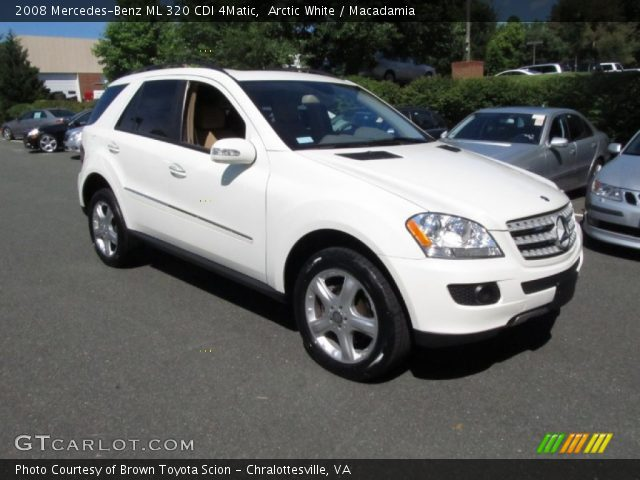 arctic white 2008 mercedes benz ml 320 cdi 4matic. Black Bedroom Furniture Sets. Home Design Ideas