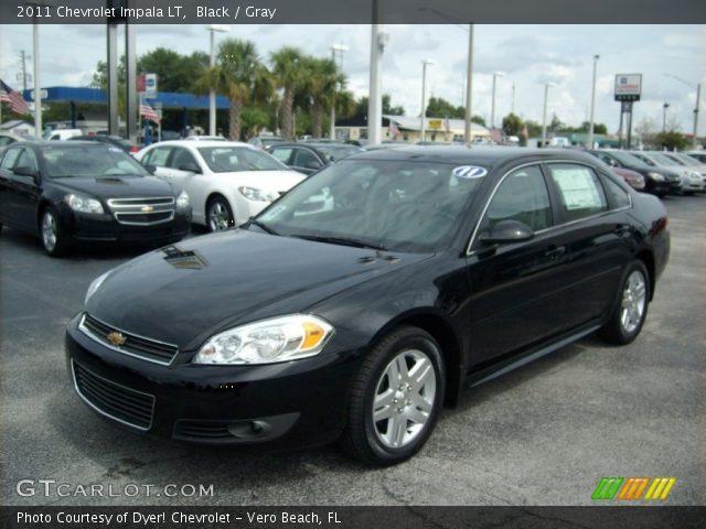 black 2011 chevrolet impala lt gray interior vehicle archive 51188847. Black Bedroom Furniture Sets. Home Design Ideas