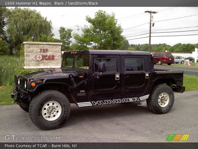 1999 Hummer H1 Wagon in Black